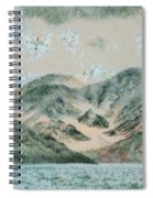 Lake In The Mountains Spiral Notebook