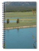 Lake In Yellowstone Spiral Notebook
