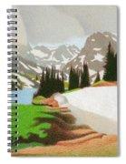 Lake Isabelle Storm Spiral Notebook