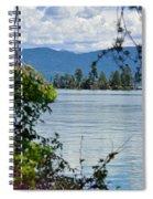 Lake Islet Spiral Notebook
