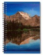 Lake Josephine  Spiral Notebook