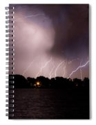 Lake Lightning 3 Spiral Notebook