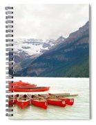Lake Louise Spiral Notebook