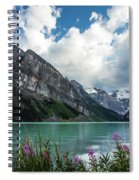 Lake Louise Day One Spiral Notebook