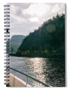 Lake Lucerne From A Boat  Spiral Notebook