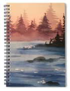 Lake Spiral Notebook
