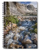 Lake Marie Of The Snowy Range Spiral Notebook