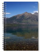 Lake Mcdonald Reflection Glacier National Park 2 Spiral Notebook