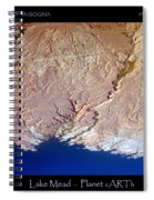 Lake Mead - Planet Art Spiral Notebook