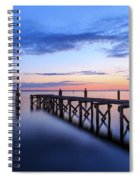 Lake Monroe At Twilight Spiral Notebook