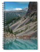 Lake Moraine Angles Spiral Notebook