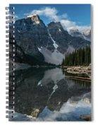 Lake Moraine Reflection Spiral Notebook