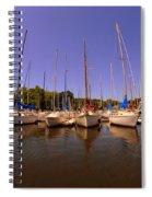 Lake Murray S C Marina Spiral Notebook