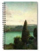 Lake Nemi Spiral Notebook