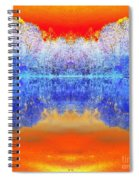 Lake Of Many Colors  Spiral Notebook
