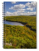 Lake Of The Clouds Spiral Notebook