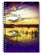 Lake Of The Sleeping Souls Spiral Notebook