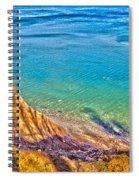 Lake Ontario At Chimney Bluff Spiral Notebook