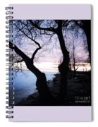 Lake Ontario In March  Spiral Notebook