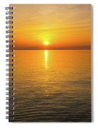 Lake Ontario Sunset Spiral Notebook