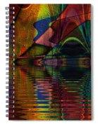 Lake Opalescence Spiral Notebook