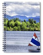 Lake Placid Spiral Notebook