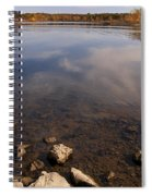 Lake Pomme De Terre In October Spiral Notebook