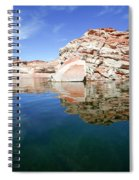 Lake Powell And The Glen Canyon Spiral Notebook