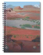 Lake Powell At Farley Canyon Spiral Notebook