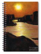 Lake Powell At Sunset Spiral Notebook