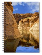 Lake Powell Stillness Spiral Notebook