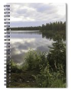 Lake Reflections Spiral Notebook