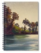 Lake Scene Spiral Notebook