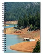 Lake Shasta Spiral Notebook