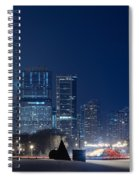 Lake Shore Drive Chicago Spiral Notebook