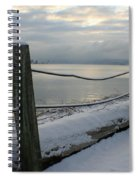 Lake Snow Spiral Notebook