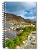 Lake Summit Tundra Path Spiral Notebook