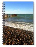 Lake Superior At Whitefish Point Spiral Notebook