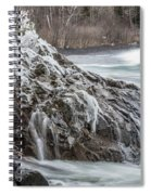 Lake Superior Motion Spiral Notebook