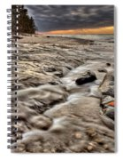 Lake Superior Northern Michigan  Spiral Notebook