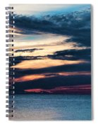 Lake Superior Sunset Spiral Notebook