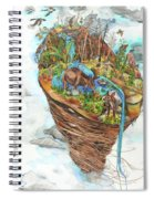 Lake Superior Watershed In Early Spring Spiral Notebook