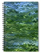 Lake Tahoe Abstract Spiral Notebook