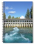 Lake Tahoe Dam Spiral Notebook