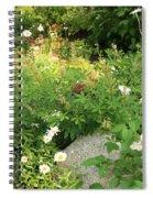 Lake Tahoe Flower Garden Spiral Notebook