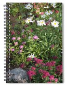Lake Tahoe Garden Spiral Notebook