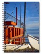 Lake Tahoe Low Water Spiral Notebook