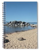 Lake Tahoe Morning Spiral Notebook