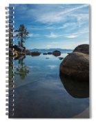 Lake Tahoe Nevada Spiral Notebook