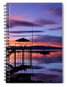 Lake Tahoe Rising Spiral Notebook